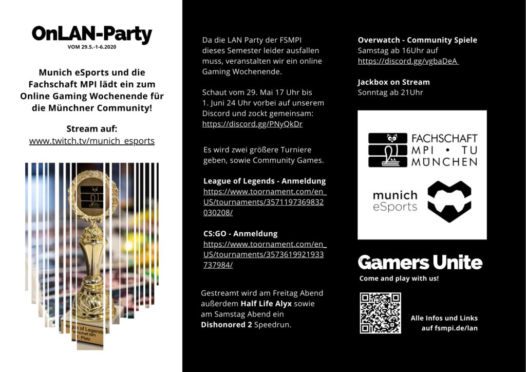 OnLAN-Party Mai 2020